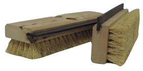 HG Scrub Brush with Squeegee